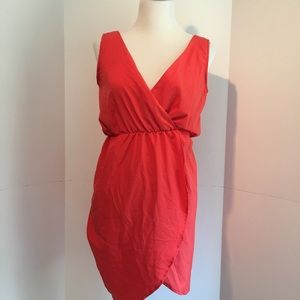 """Francesca's """"buttons brand"""" red dress small"""